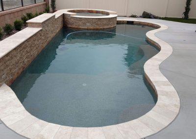 Concrete Pool Construction Complete