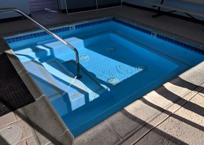 Textured Pool Deck Concrete