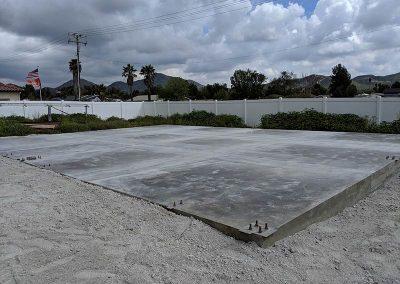 Concrete Foundation Finished