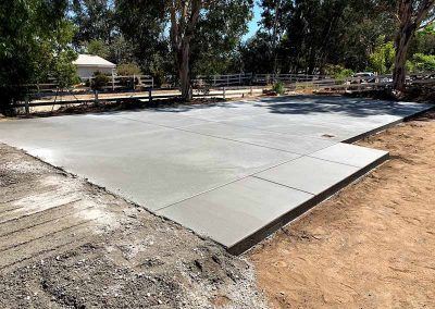 Concrete Pad Finished