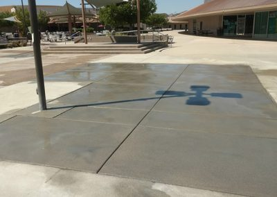 High School Courtyard Concrete Repair