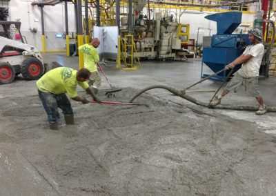 Indoor Concrete Repair